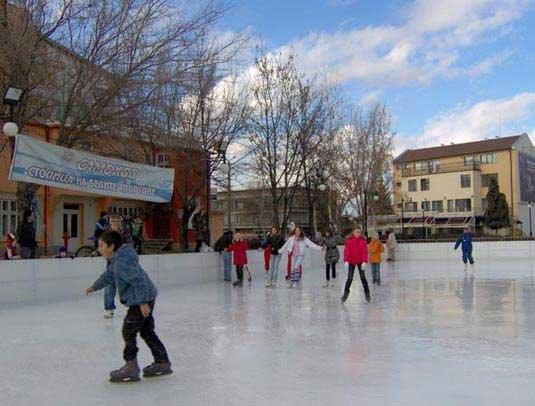 Ice rink in Samokov
